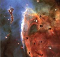 Keyhole Nebulae